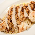 Chicken & Shrimp Alfredo - $17.00