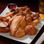 Fried Seafood Platter - $29.50